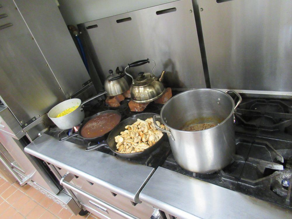 more dinner making