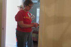 Kris-door hardware reinstalling