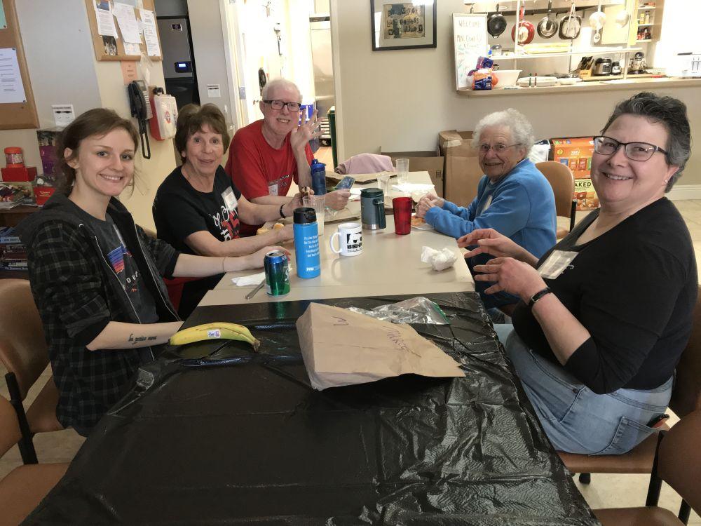Lunchtime with Katy Corbin & Jewell Martin &  Robert Yahnke & Joan Kirchoff & Marce Ediger 1.28.19
