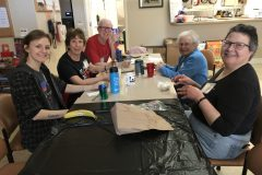 Lunchtime with Katy Corbin & Jewell Martin &  Robert Yahnke & Joan Kirchoff & Marce Ediger 1.28.19