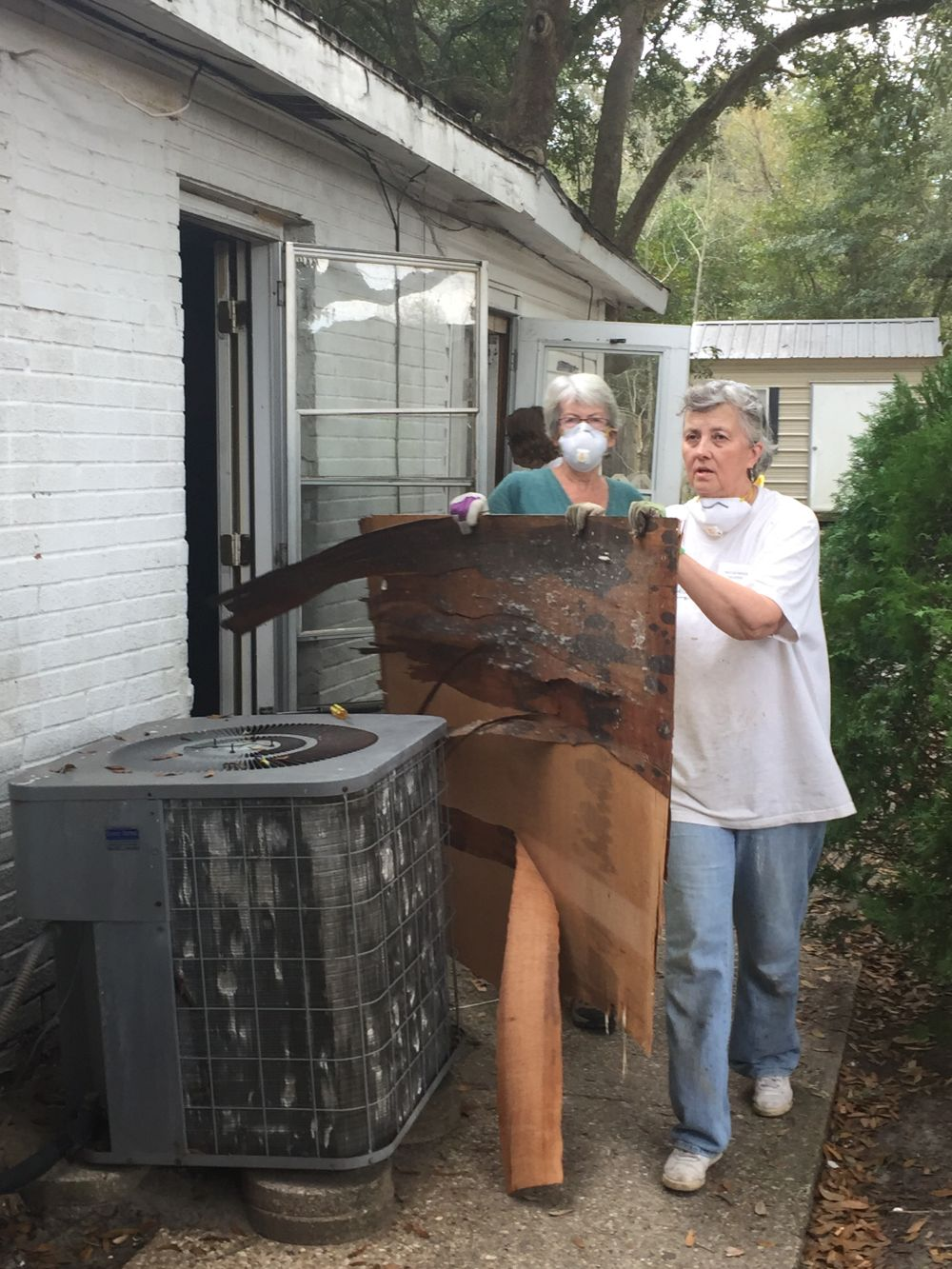 M - Debris removal work site 1