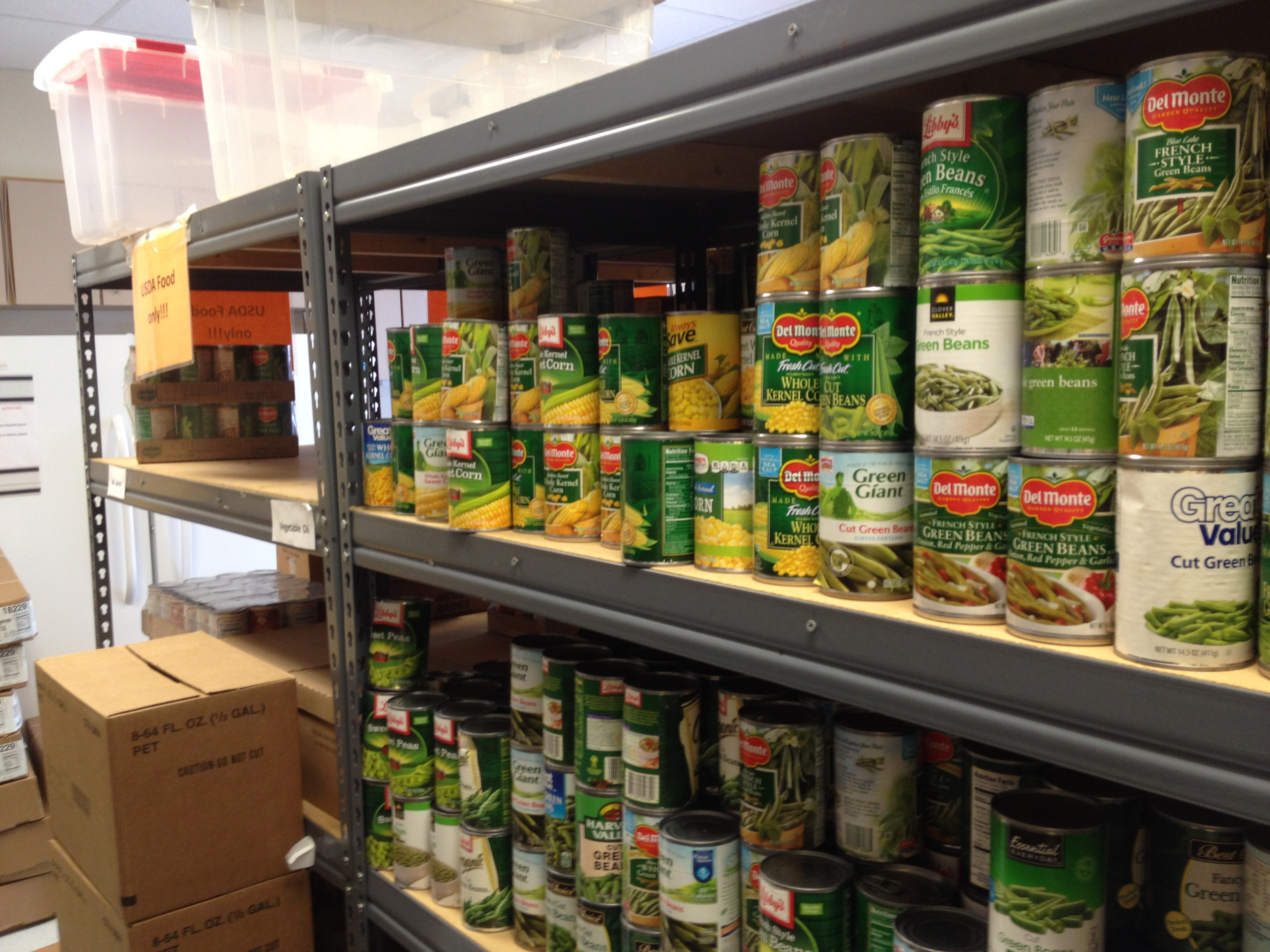 The Food Pantry. A Journal Entry by Social Justice Intern Katy Morton.