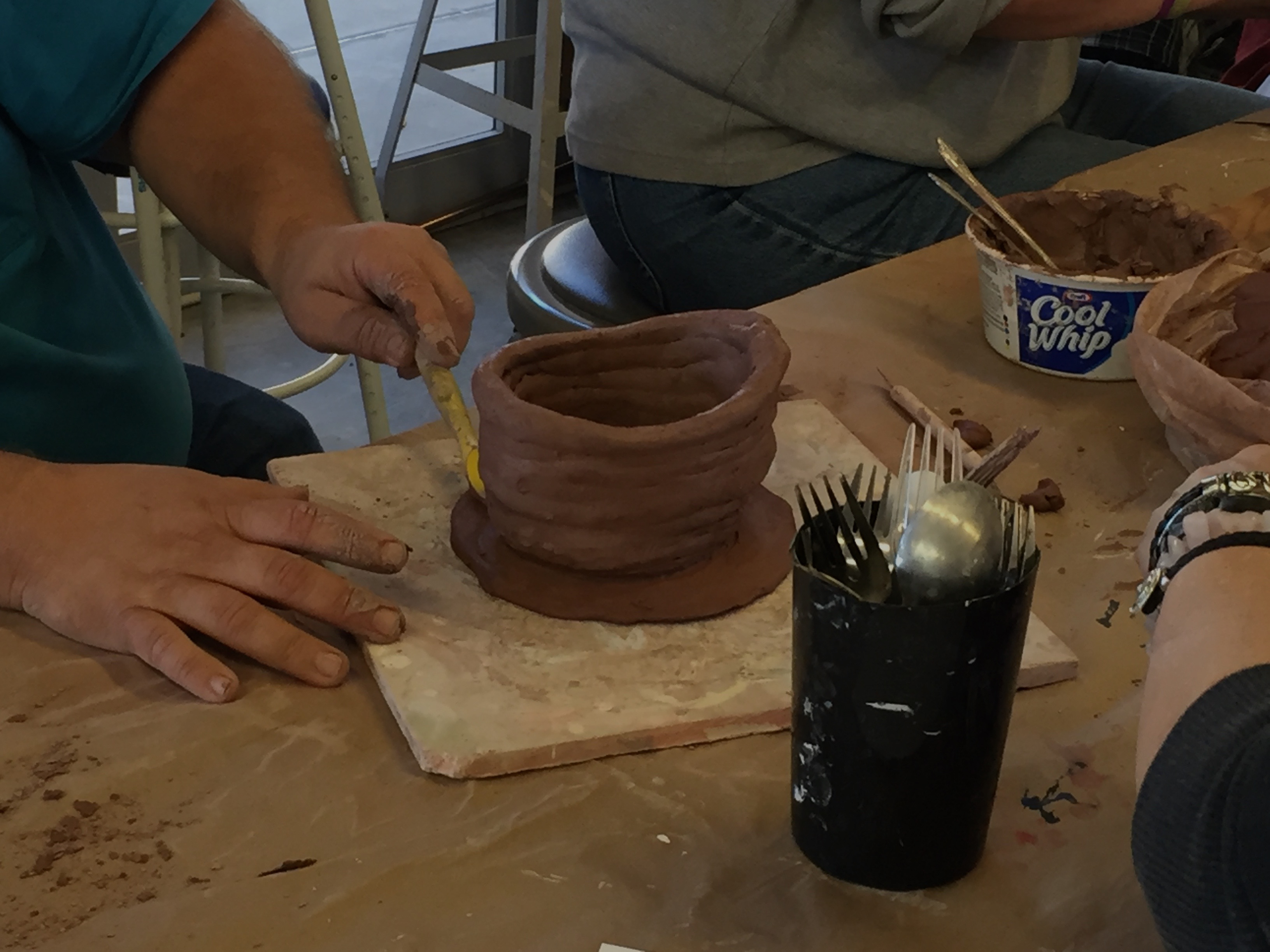 The Art in Living: Pottery Class
