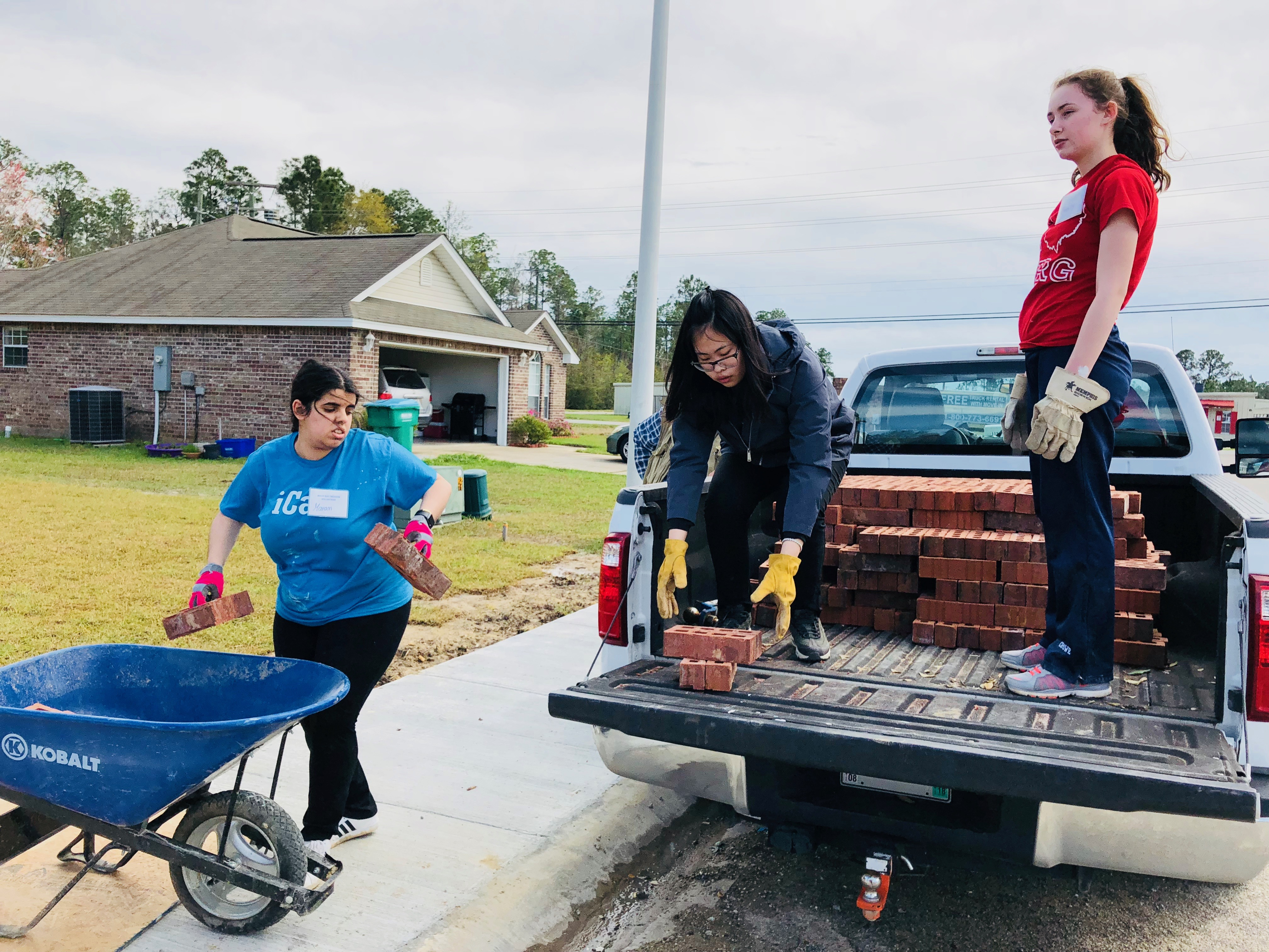 2018 Volunteer Photos: Heidelberg University (Tiffin, Ohio)