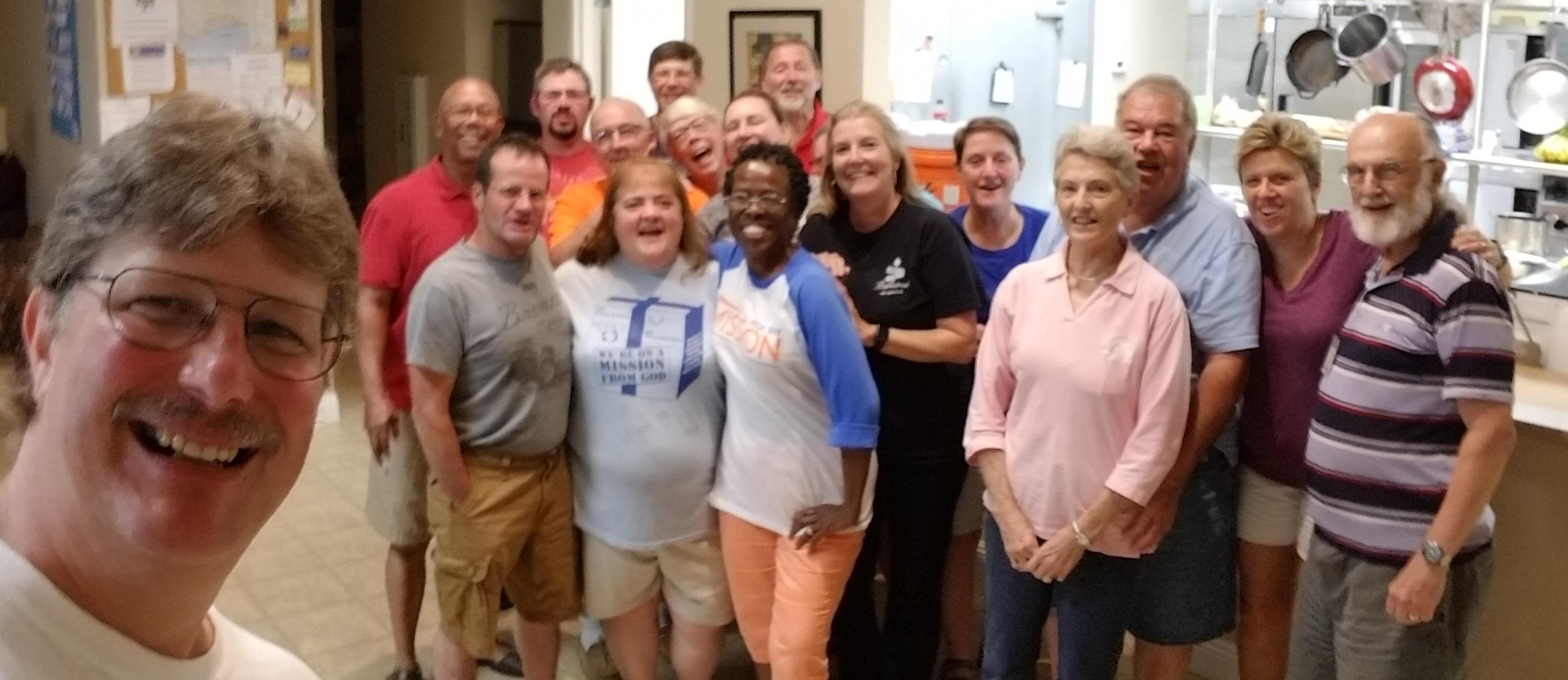 2018 Volunteers: Peace Lutheran Church (Oshkosh, Wisconsin)
