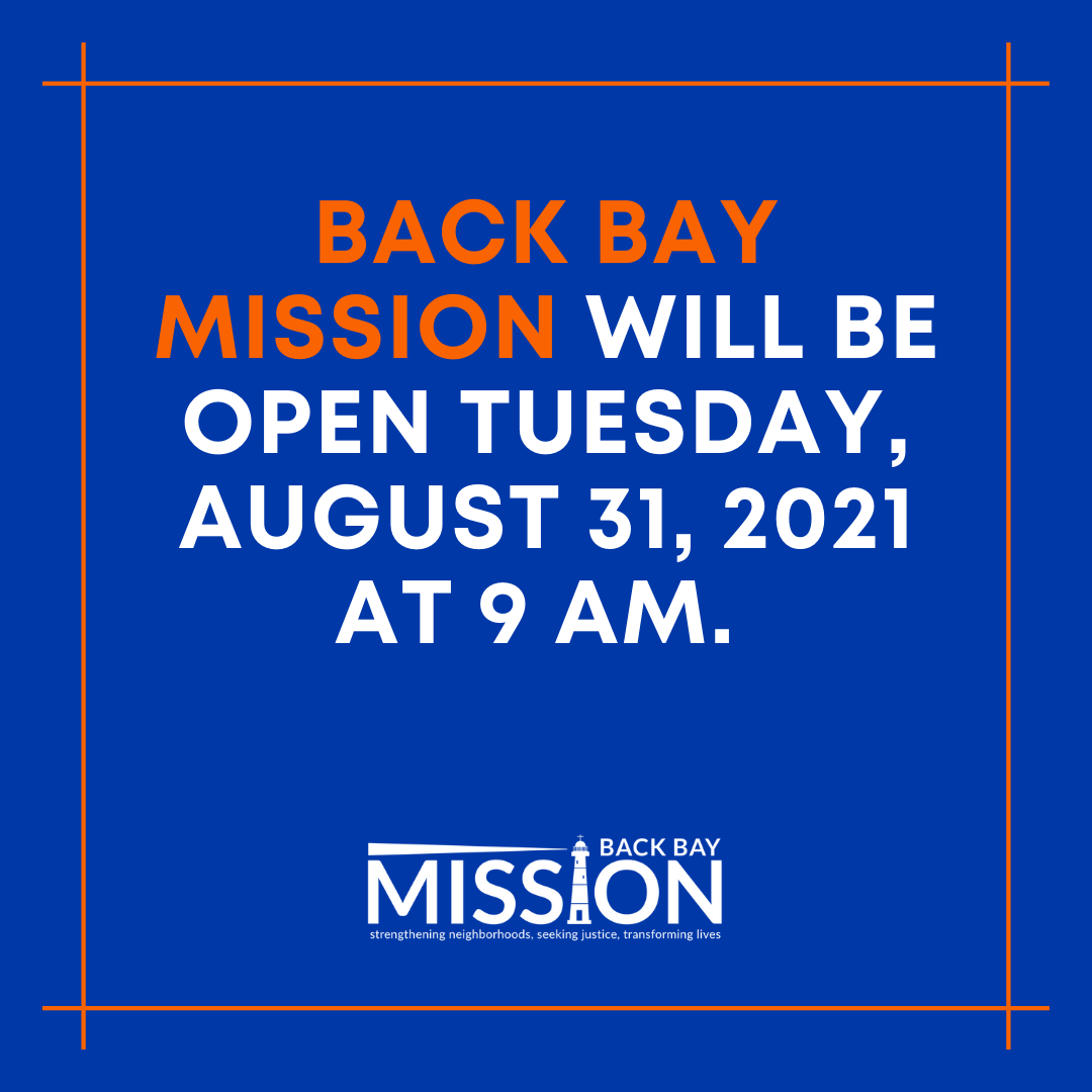 We will be back open tomorrow, Tuesday, August 31, 2021!